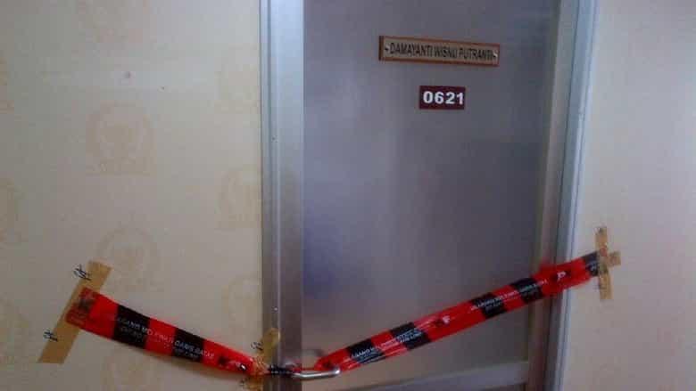 Ruangan anggota DPR dari F-PDIP Damayanti Wisnu Putranti (DWP)